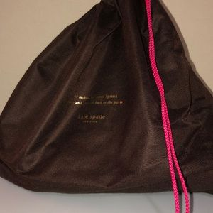 kate spade Bags - Kate Spade Purse and Dust Bag. Gold Hardware